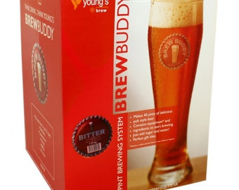 Brew Buddy ,Bitter ,starter kit, home brew , Gift Idea,