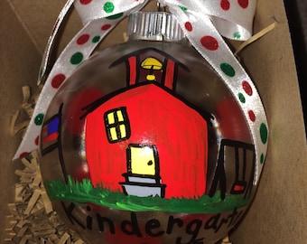 Kindergarten Christmas Ornament