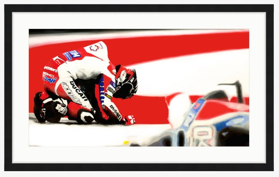 Round 3: MotoGP COTA, Dovizioso - The Agony of Defeat