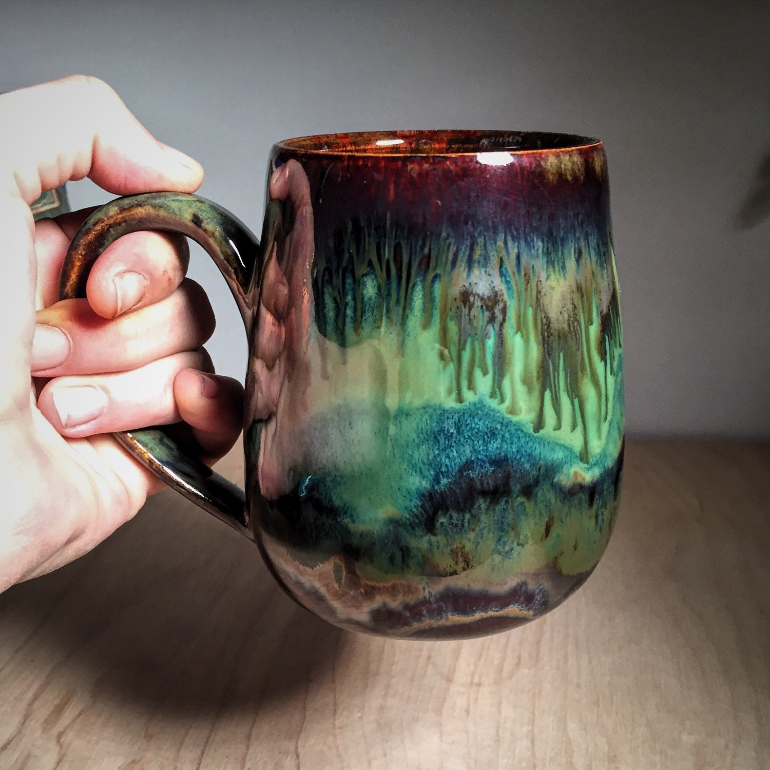 Updates from sublimepotterystudio on etsy for Clay mug ideas