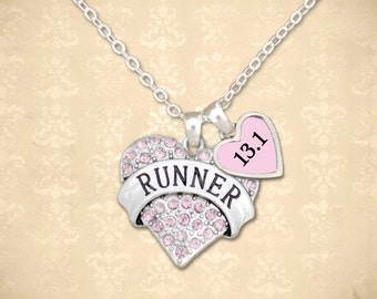 Custom Distance Runner Necklace