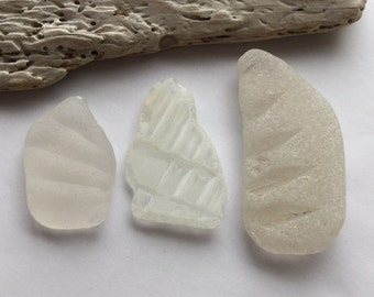 Wings of Patterned Scottish Sea Glass SG 10.6.16.15