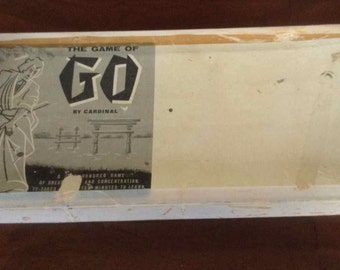 """Vintage """"Game of Go"""" Mfg by Cardinal Industries Inc. - Made in USA - 1951"""