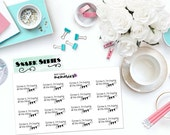 "SNARK SERIES: ""Screw it, I'm buying all the things."" Paper Planner Stickers!"
