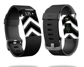 Skin Decal Wrap for Fitbit Blaze, Charge, Charge HR, Surge Watch cover sticker Chevron Style