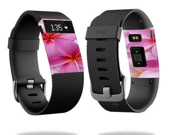 Skin Decal Wrap for Fitbit Blaze, Charge, Charge HR, Surge Watch cover sticker Flowers