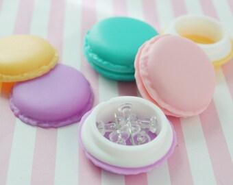 Pastel Macaron Pillbox - 1 piece