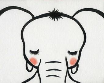 Eli, the Elephant printable art decor