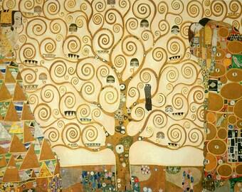 Gustav Klimt: Tree of Life. Fine Art Print/Poster (00313)