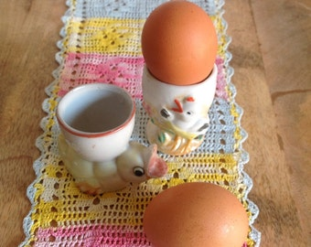 Two Vintage Egg Cups