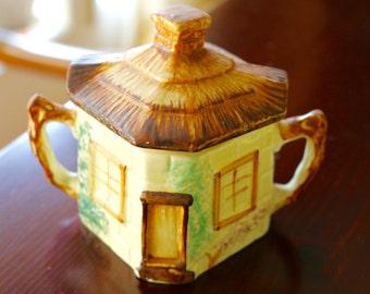 Antique Cottage Ware Sugar Bowl
