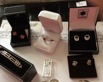 Priced separately - Charles Rennie McIntosh various pieces of quality sterling silver jewellery