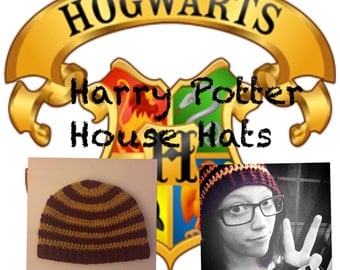 Adult Harry Potter House Hats