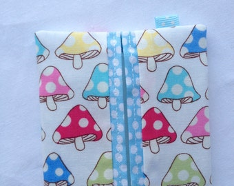 Bunting colourful shabby chic style fabric by josewshandmade for Snowman pocket tissues