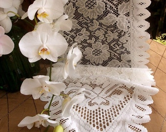 Lace Table Runner 13 x 120