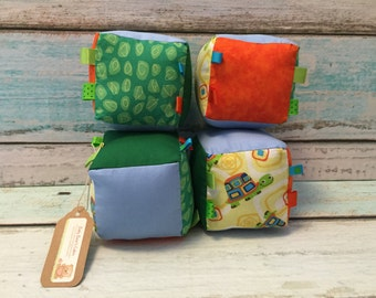 Turtle Tumble Plush Blocks