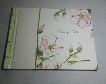 Book of signatures, album of photos, guestbook