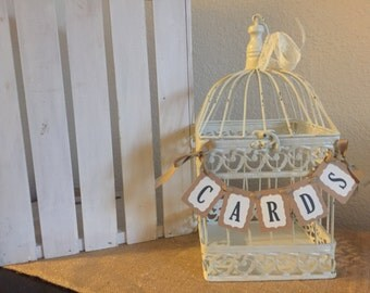 Mini Cards Banner for Wedding
