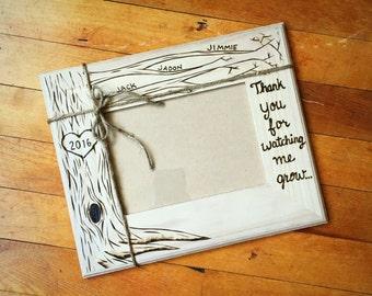 Daycare teacher gift etsy teacher nanny daycare gift wood burned frame 5x7 caretaker gift personalized negle Choice Image