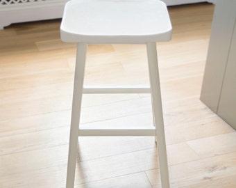 Nordic beech stool