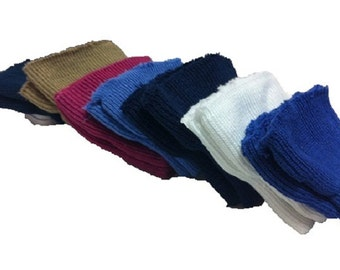 7 colors Knit cuffs with wide openings 7pairs/14pcs