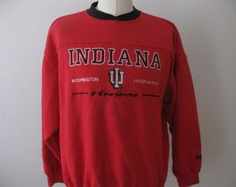 Vintage Indiana Hoosiers University sweatshirt Adult XL