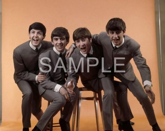 Fabric Art Quilt Block - The Beatles - BEAT277  FREE SHIPPING