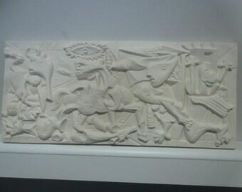 Plaster Cast Guernica