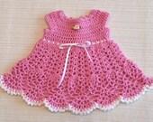 Crochet Sophia Dress PATTERN