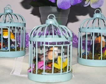 Decorative Bird Cage, Decorative Bird Cages, Bird Cage Decor, Birdcage Centerpieces, Table Decor, Set of 3, Ready to Ship!