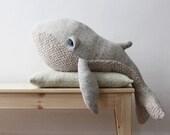 Big Whale <O> Stuffed Animal <O> Plush Toy