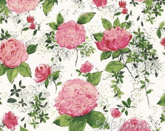 Hoffman Fabric Painted Petals