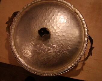 Rodney Kent Decorative Aluminum bowl with cover