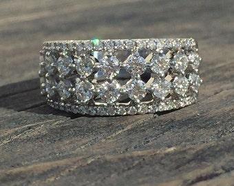 1.11 Carat Diamond Band