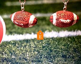 Football earrings   sport earrings