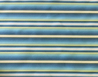 Ocean Blue and Lime Green R/R Stripe