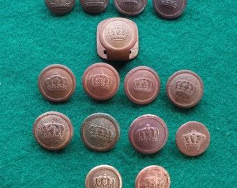 WW1  German/Prussian Tunic Buttons