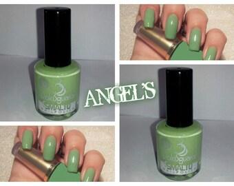 nail polish, long-lasting color PASTEL GREEN
