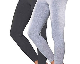 New Full Length Cotton Leggings - All Sizes
