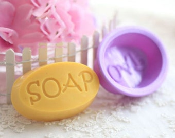 SOAP Flexible Silicone Mold for DIY Soap Bars
