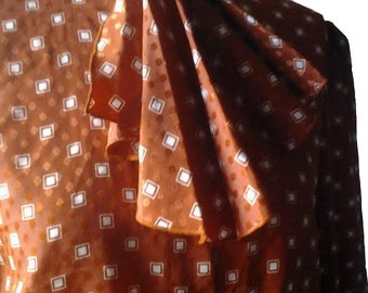 Orange Vintage Blouse
