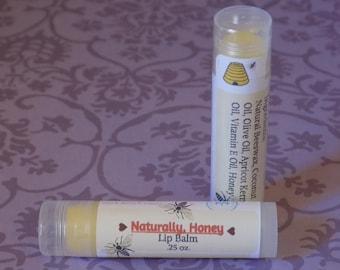 Naturally, Honey Lip Balm