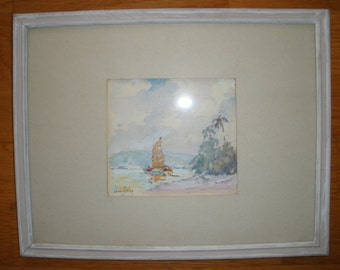 Original Impressionist Oil Painting by James Eccles - FREE SHIPPING