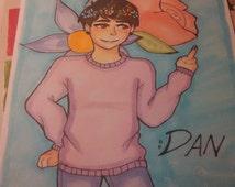 Pastel!Dan Drawing