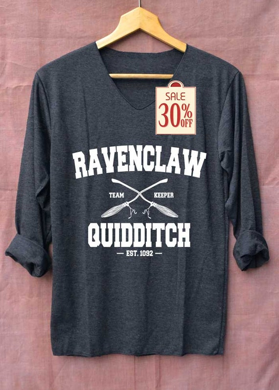Ravenclaw Quidditch Harry Potter Shirts Black Long by ...