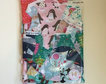 Christmas Fabric Scrap Bag 200g