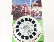 "View-Master 3 Reel Sets EPCOT Center 3D: ""World Showcase No. 1"" 3-pk Reels NIP 1980s Toy"