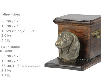Additional payment for urn -Dachshund. Special listing