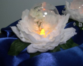 Wedding Flower Light Globe