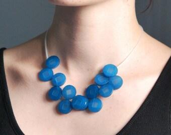 "Plexiglas ""capstan"" necklace"